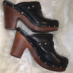 UGG leather clogs size 10M